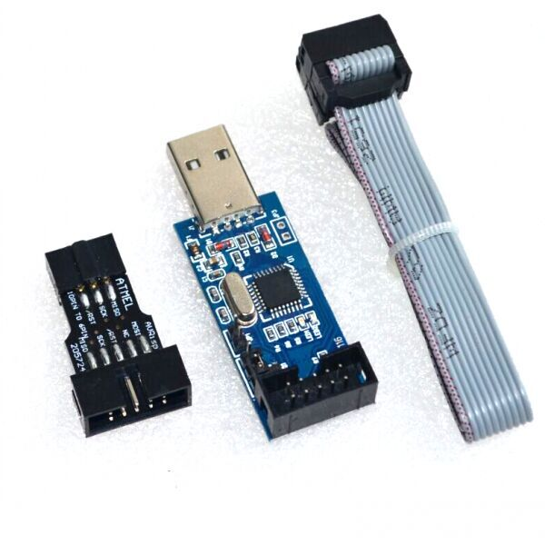 Usbisp Usbasp Avr Programmer With 10 Pin To 6 Pin Adapter