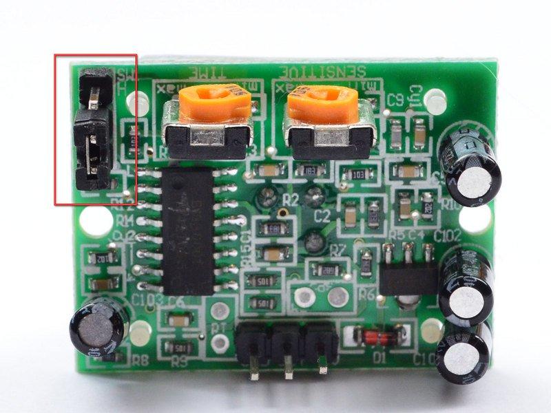 motion sensor trigger