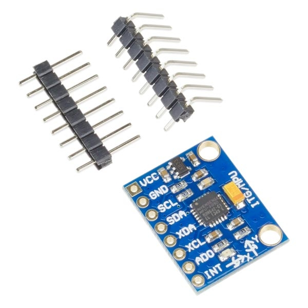 MPU-6050 3 axis accelerometer and Gyroscope