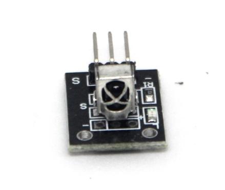 HX1838 infrared receiver module